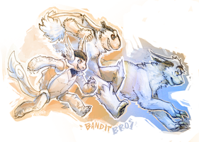 Bandit Bros is a Go!!! by TeaDino