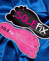 SOLEFIX business card by juniormaloney1