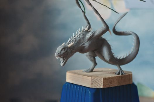 Dragon (WIP) by Zheltkevich