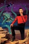 William T Riker by schultzee