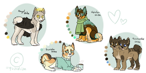 Shibes !! || ALL TAKEN by quardiian