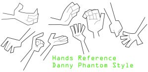 Hands Reference DP Style by glorypaintGR
