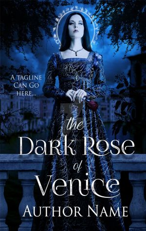 The Dark Rose of Venice - Premade Book Cover by la-voisin