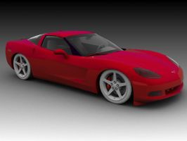 NFS: MW Corvette C6 by NoLiMiT3d