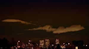 The City From My Rooftop by BenHinman