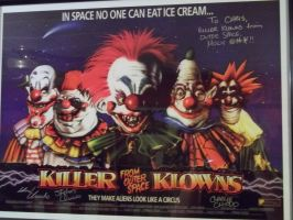 Killer Klowns from Outer Space by Blade-of-the-Moon