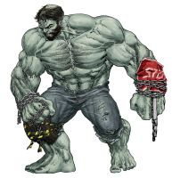 Hulk Redesign by RansomGetty