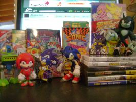 My Sonic Collection by Firestormxx