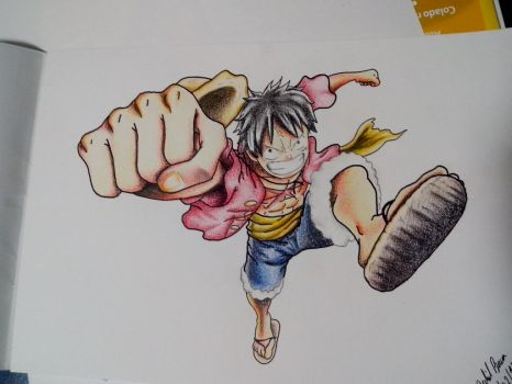 Luffy - One Piece by Evinkar