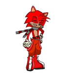 Heatwave the Coyote by CheshandAcefakemon
