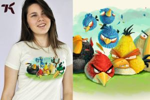 Very Angry T Shirt by ChamaCamisetas