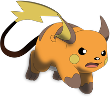 My eighth vector of, Raichu. by Flutterflyraptor