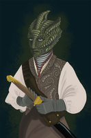 Madame Vastra by NoRiz
