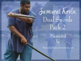 Samurai Kevin Dual Swords PACK 2 by themuseslibrary