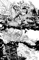 Swampthing 014 016v2 by YanickPaquette
