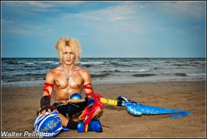 Memories of Jecht by Tidus - Final Fantasy X by LeonChiroCosplayArt