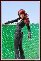 Black Widow - Iron man 2 by HikariKosmaker