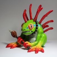 Guardian Murloc sculpture by suzannewolf