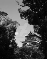 Hiroshima castle by thecoldestrain