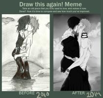 Draw this again - ichiruki by Iranee
