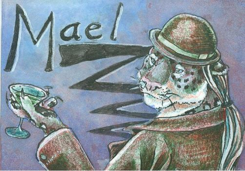 ACEO badge commission for Mael by SpottedPegasus