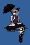 Gothic Lolita Deadbones by Radioactive-K