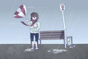 Wind and Rain by luckcharm