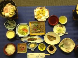 Japanese meal by macaustar