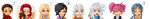 Tales of Symphonia cast..... by squishMuffin23