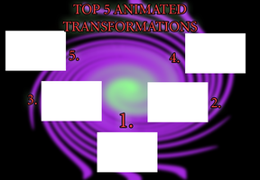 Top 5 animated transformation meme by toongrowner