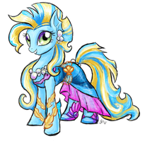Ponified Lagoona by GingerFoxy
