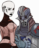 Durge x Ventress COLORED by Apricots-from-Nara