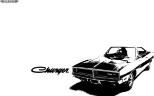 Dodge Charger 69 Black by ortlibas