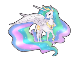 Princess Celestia by Sugarcup91
