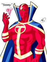 DWE: Red Tornado by micQuestion