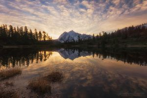 Subtle Shuksan by LAlight