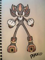 Shadow T'H' Sketch by KaiThePhaux