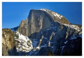 Half Dome-Yosemite by shell4art