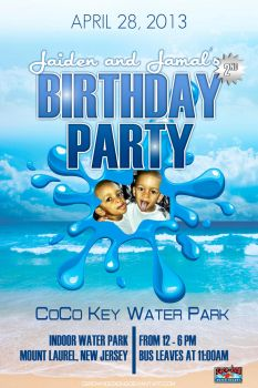 Coco Key Bday Party by CBrownDESIGNS