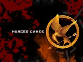 Hunger Games Wallpaper by BlueEcoFreak