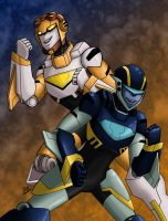 Jet Twins by Wrecker-lady