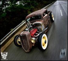 Mike's RatRod by Oldschooljeff