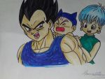 poor vegeta by vegitoxxx