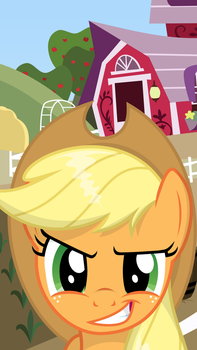 Applejack Screensaver by oOBrushstrokeOo