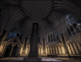 Chapter House - Night by jacktomalin
