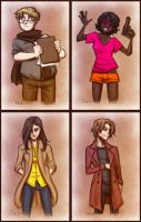 Red Road :: Main Four by Inonibird