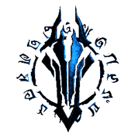 Darksiders Logo - Blue by animega90
