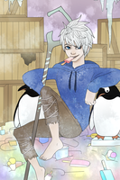 Jack Frost the ice-cream king by hyokka