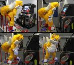 Tails Plays DDR! by refira