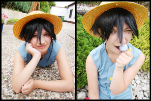 OP:Luffy-chan 2 by Shikke